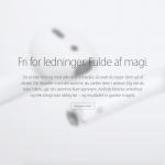 """Apple oplyser på deres hjemmeside primo november, at AirPods """"Kommer Snart"""" (Foto: MereMobil.dk)"""