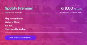 Juletilbud fra Spotify 2016
