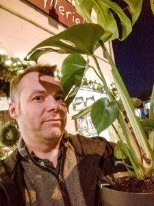 Parrot Pot var med hos blomsterhandleren (Foto: MereMobil.dk)
