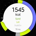 Screenshot fra Gear S3 (Foto: MereMobil.dk)