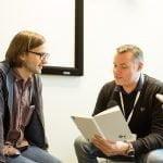 John G. interviewer Ryan Germick, Principal Designer ved Google (Foto: MereMobil.dk)