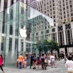 Apple Store, 5th Avenue, New York (Foto: MereMobil.dk)