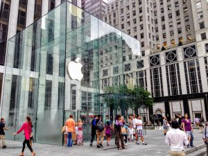 Apple Store, 5th Avenue, New York (Foto: MereMobil.dk)