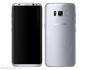 Er dette billede et pressefoto af den kommende Samsung Galaxy S8, som er blevet lækket? (Kilde: GSMArena.com)