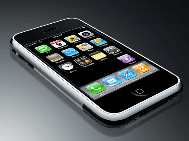 iPhone 1. generation (Foto: Apple)