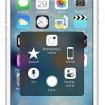 """Sådan ser funktionen """"Assistive Touch"""" ud på iPhones hjemmeskærme"""