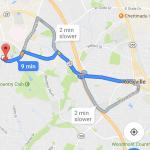 Google Maps parkeringsforhold