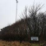 Mobilmast i Hogager (Foto: Holstebro kommune)