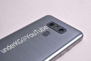 Billeder der angiveligt viser den lækkede LG G6 (Kilde: UnderKG@YouTube)