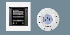 Danfoss Link med kontrolenhed og termostat (Foto: Danfoss)