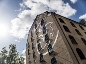 Billede af 3's hovedkontor i København (Foto: 3 Danmark)