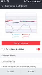 Lydtilpasning med HTC USonic (Foto: MereMobil.dk)