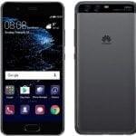 Huawei P10 lækket i sort (Kilde: Evan Blass / @EvLeaks)
