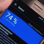 Huawei Mate 9 Pro, batteri