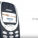 Nokia 3310 koncept-idéer, mockup af Concept Creator.