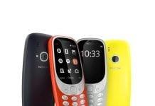 Nokia 3310 i 2017-versioner (Foto: Nokia)