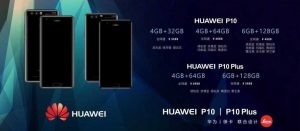 Huawei P10 Plus priser