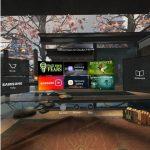 Samsung Gear VR - hjem menu