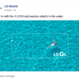 LG g6 water proof