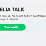 Taletidskort Telia