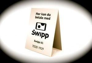Swipp lukker og slukker (Foto: MereMobil.dk)