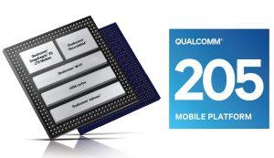 Qualcomm 205 platform