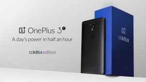OnePlus 3T Colette Edition (Foto: OnePlus)