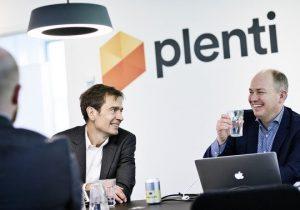 Preben Damgaard ny investor i Plenti og Peter Mægbæk (Foto: Plenti)