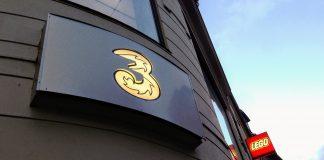 3's butik på Strøget i København (Foto: MereMobil.dk)