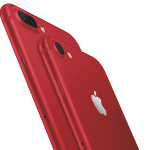 iPhone 7 og iPhone 7 Plus, Product RED (Foto: Apple)