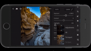 Adobe Lightroom på smartphonen (Foto: Adobe)