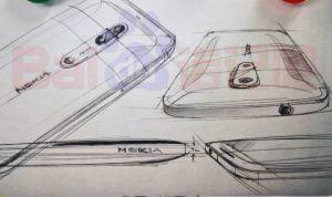 Skitse af de måske kommende Nokia 7, Nokia 8 og Nokia 8 modeller (Kilde: wmpoweruser)