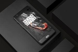 OnePlus 3T i Midnight Black (Foto: OnePlus)