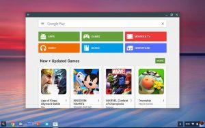 Google Play på Chrome OS
