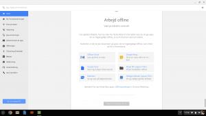 Offline-apps på Chrome OS