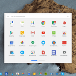Chrome OS udvidet appliste