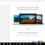 Chrome OS hjælpe-guide