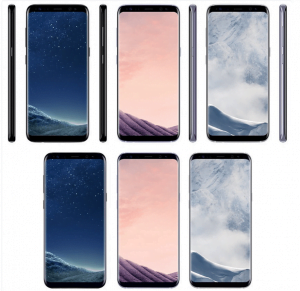 Lækkede billeder af Samsung Galaxy S8 (Foto: EvLeaks)