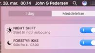 TIP: Sådan bruger du Night Shift på Mac-computere. Se hvordan du opretter en tidsplan og styrer Night Shift med stemmen.