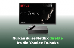 Netflix får egen kanalplads på YouSee-boks (Foto: YouSee)