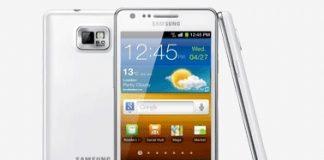Samsung Galaxy S II fra 2011 (Foto: Samsung)