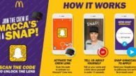 McDonald's har taget en anderledes ansættelsesmetode i brug i Australien. Ansøgerne kan indsende videoansøgninger via SnapChat.
