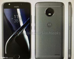 Lækket billede af det, der ventes at være Moto E4 eller Moto E4 Plus (Kilde: GSMArena.com)