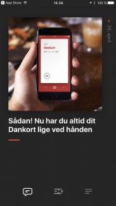 Dankort på iPhone (Foto: MereMobil.dk)