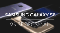 Er 4 GB RAM nok? Kan skærmen ses i sollys? Hvor lang er batteritiden ved websurf? Få svar på disse og 23 andre læserspørgsmål om Galaxy S8'erne.