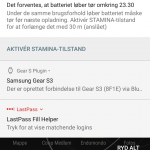Screenshot fra Sony Xperia XZs (Foto: MereMobil.dk)