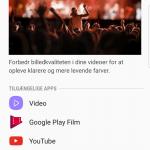 Screenshot fra Samsung Galaxy S8+ (Foto: MereMobil.dk)