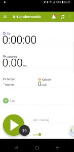 Eksempel på app med sorte kanter på Galaxy S8+ (Foto: MereMobil.dk)