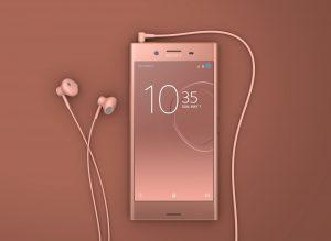 Sony Xperia XZ Premium i Bronze Pink (Foto: Sony)