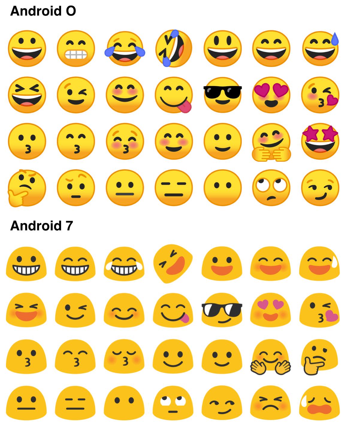 android emoji ändern